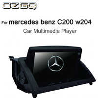 OZGQ 8inch Android IPS Screen Car Multimedia Player GPS Headunit Autoradio Navigation For 2007-2011 Mercedes benz C200 w204