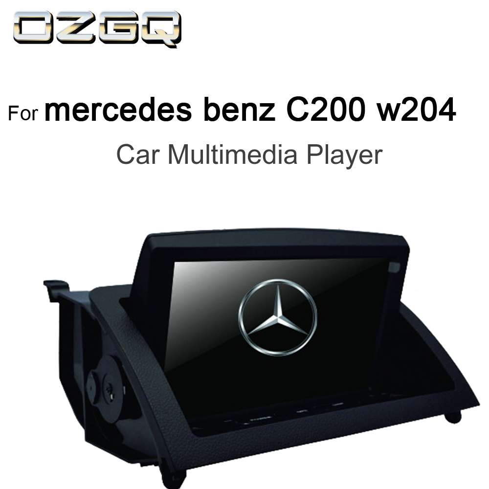 OZGQ 8inch <font><b>Android</b></font> IPS Screen Car Multimedia Player GPS Headunit <font><b>Autoradio</b></font> Navigation For 2007-2011 <font><b>Mercedes</b></font> benz C200 <font><b>w204</b></font> image