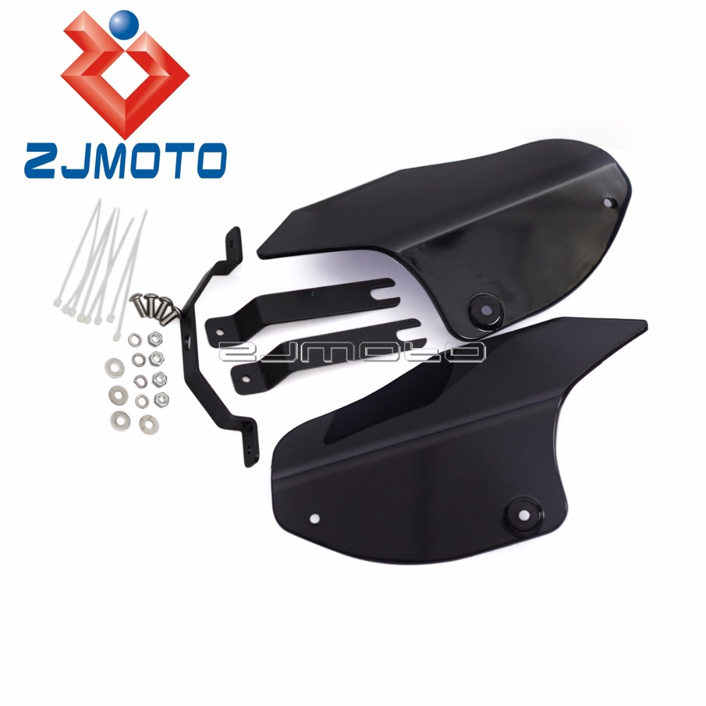 Frames & Fittings High Quality Abs Plastic Motorcycle Air Deflector For Harley Davidson 2000-2016 Softail Models