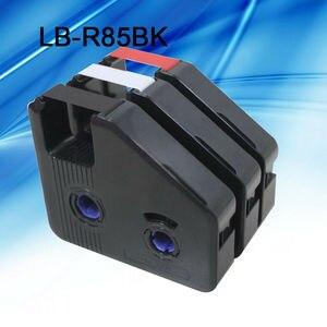 Image 3 - 10 Pcs/lot encre ruban cassette LB R85BK noir pour câble ID imprimante électronique lettrage tube imprimante BEE200 et BEE200/PC