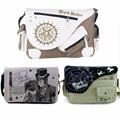 Anime Black Butler Canvas Handbag Messenger Bag Shoulder Bag Sling Pack Satchel Cosplay