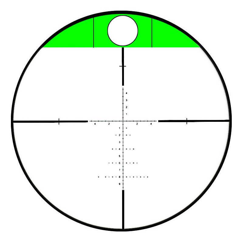 Mira telescópica de rifle táctico t-eagle ER4-16X44SFIR, mira telescópica para caza de francotirador, mira telescópica para caza, accesorios para caza