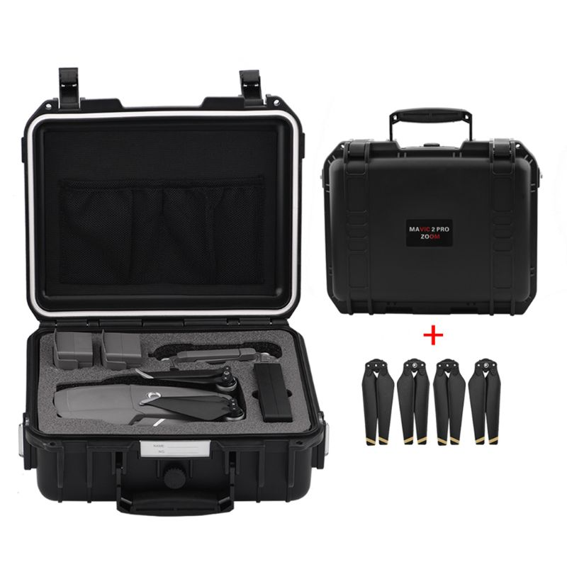 Portable Waterproof Storage Bag Travel Carrying Case With Propellers For DJI Mavic 2 Pro/DJI Mavic 2 Zoom Drone Accessories