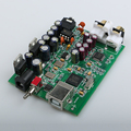NEW XMOS U8 + AK4490 AMP NE5532 USB DAC Decoder Sound Card Headphone Output Support for PCM 192kHz DC9V, Free shipping
