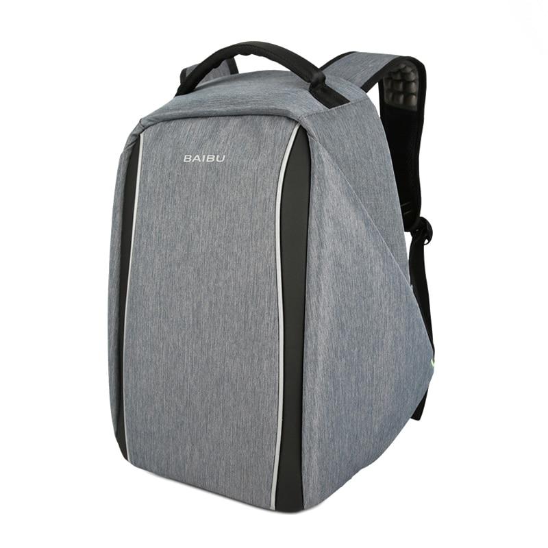 2018 New Hiking Bags USB charging Men Laptop Backpacks For Teenager Male Mochila Leisure Travel backpack XNC цена 2017