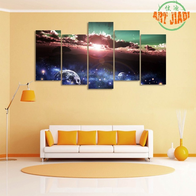 Aliexpress.com : Buy 5 piece canvas Beautiful Sunrise Canvas ...