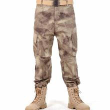 Military Tactical Pants Male Camouflage Multi-Pocket Trousers Casual Out Long Cargo Pants Men Army Baggy Camo Tactical Pants