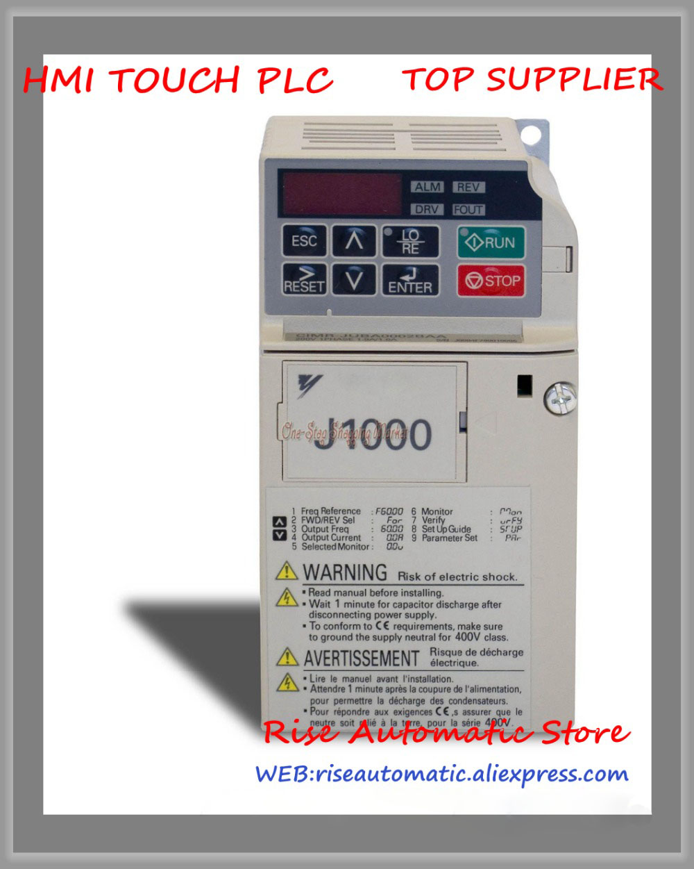 New original inverter J1000 CIMR-JBBA0010BAA 1.5KW single-phase 220V 100% test good quality