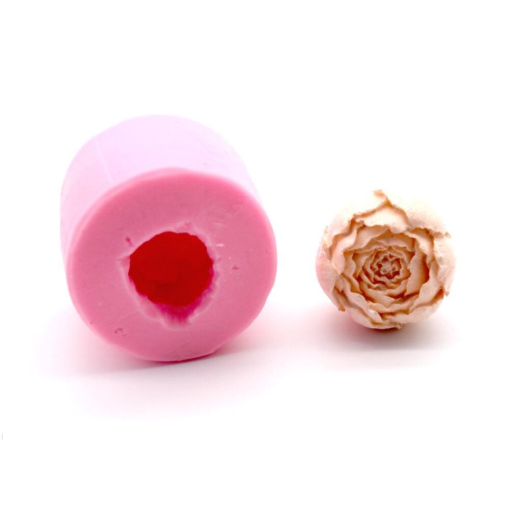 3D Роза Торт Помадка силиконовая форма торт украшения Силиконовые формы для создания шоколадных изделий конфеты формы мыло инструменты