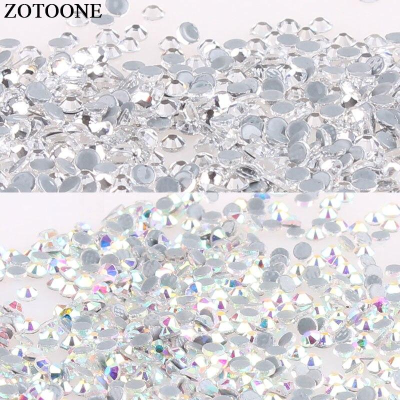 ZOTOONE Hotfix Glass Rhinestone Decorations DIY Sewing Rhinestones For  Handicrafts Wedding Dress Nail Art Sticker Rhinestones D 8f8ec5e7f98e