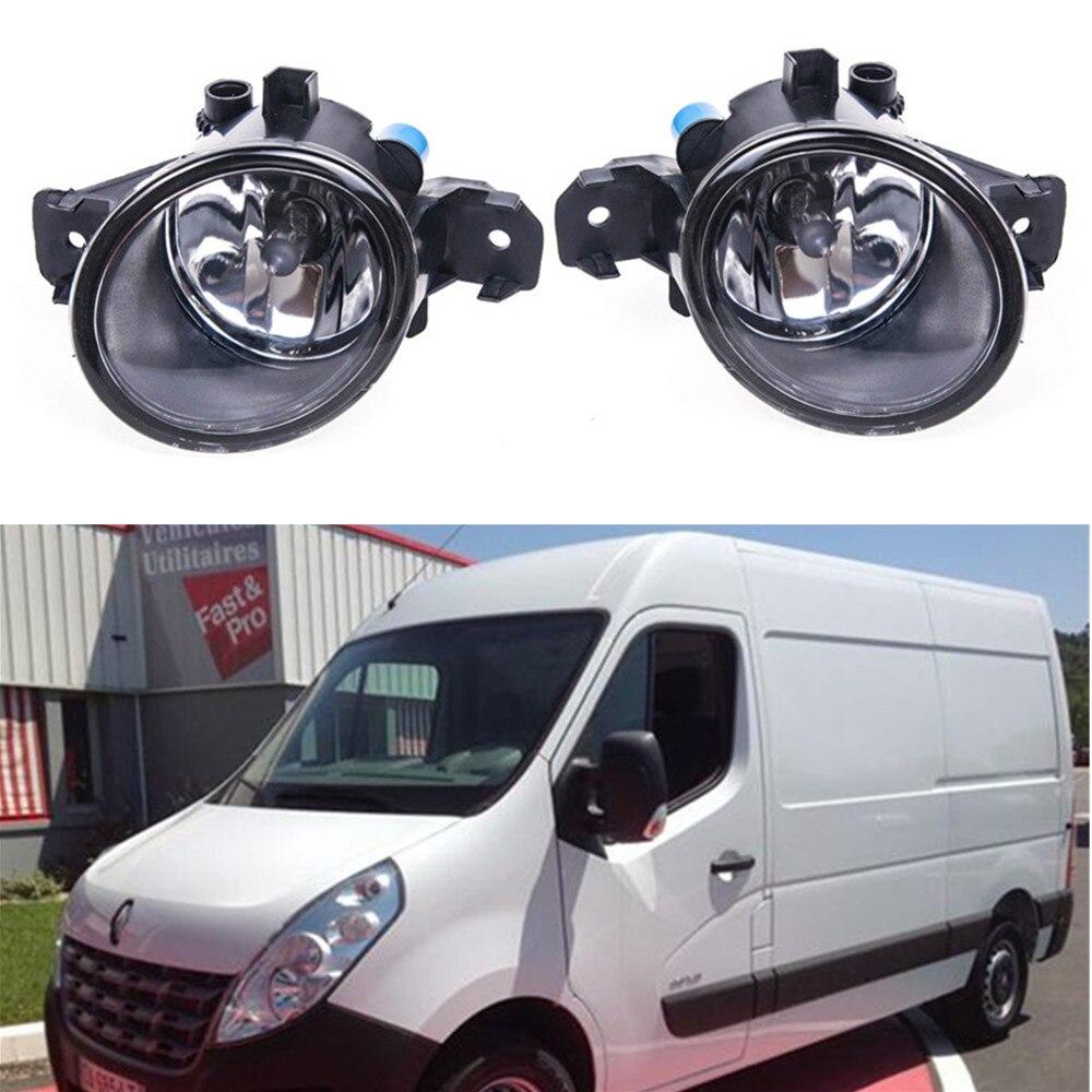 For Renault MASTER 3/III Box (FV) 2010-2015 Car styling Fog Lamps 55W halogen Lights 1SET