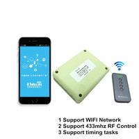 2017 New 4CH 5V DC WIFI Light Switch Controlled By Phone APP RF 433mhz Wireless Remote