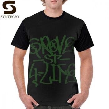 Gta San Andreas T Shirt Grove St 4 Life Graffiti T-Shirt Short Sleeves 6xl Graphic Tee Funny Tshirt