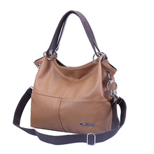 Hot Sales Ladies Fashion Patchwork Leather Handbags Girls Sling Double Shoulder Bag Female Classics Big Capacity Crossbody Bag