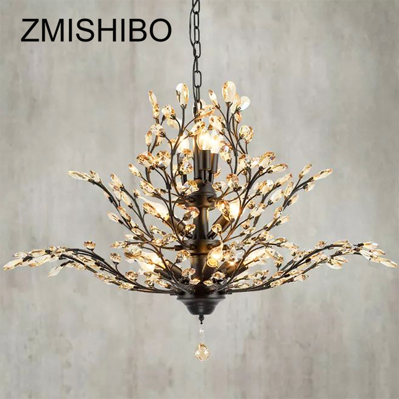 ZMISHIBO Luxury Crystal E14 Pendant Lights 3 Layer Hanging Chandelier Pendant Lamp For Living Room Classical Decoration Lighting european crystal chandelier living room decoration home lighting luxury glass chandeliers hotel hanging lights indoor wall lamp