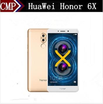"Оригинальный HuaWei Honor 6X GR5 4G LTE Мобильного Телефона Kirin 955 Android 6,0 5,5 ""FHD 1920X1080 4G B Оперативная память 6 4G B Встроенная память отпечатков пальцев 3340 мАч"