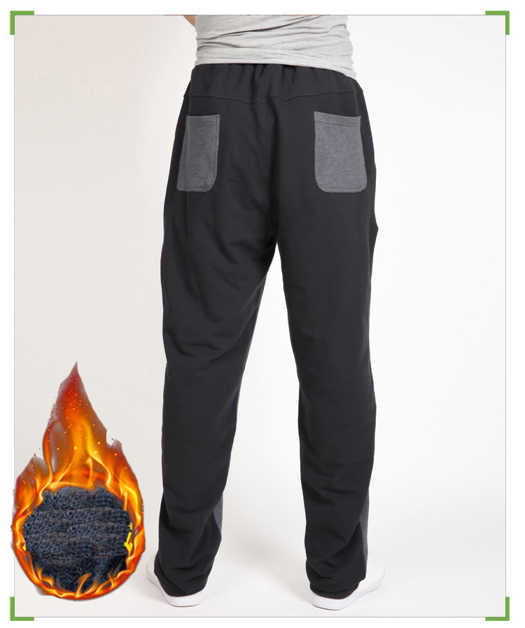 Warm winter pants men Joggers pants Hip Hop pants men clothes 18 Streetwear men's trousers large size XXXL 4XL 5XL 6XL 7XL 8XL 13