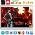DHL Бесплатно 10 дюймов tablet pc окта основные MTK8752 3 Г GPS Android 5.1 4 ГБ/32 ГБ Двойная Камера 5.0MP 1280*800 IPS СЕРЕДИНЕ Экрана Phablet