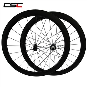 Image 2 - CSC Carbon Road Wheels 38mm 50mm 60mm 88mm Tubular Clincher Carbon Aero Wheel U Shape R13 Hub CN or SAPIM CX RAY CX RAY Spokes