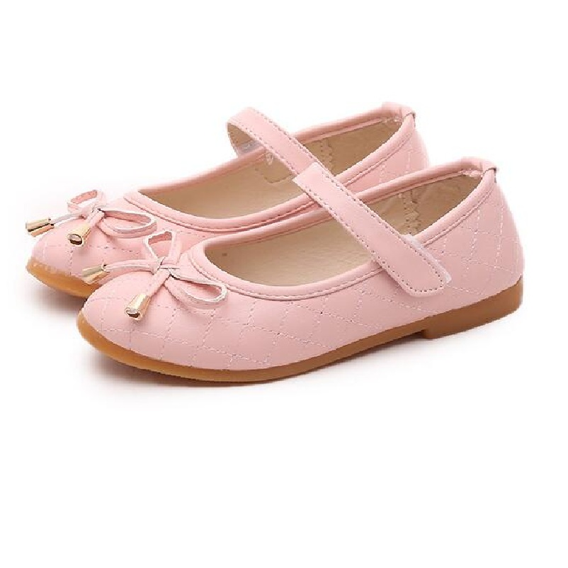 FreeShipping Children White Wedding Party Dress Princess Leather Shoes 2018 New Fashion Baby Girl Summer Single Shoes 18