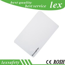 100PCS 125KHZ ISO11785 Plastic White Card Printable ID Cards blank contactless card pvc TK4100 RFID white contactless card