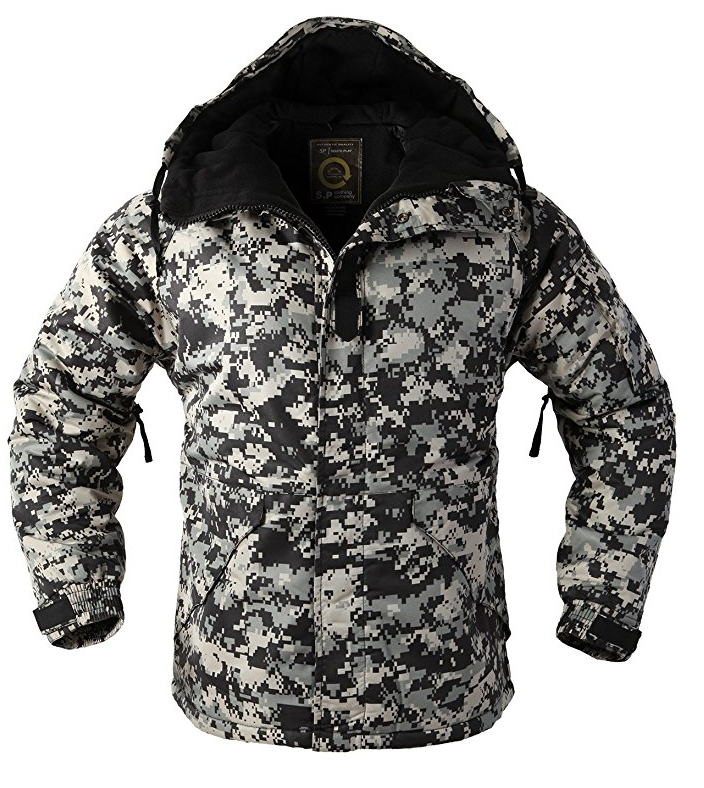 """387e16a0c10 New Edition """"SouthPlay"""" Men s """"Black Military"""" Waterproof 10"""