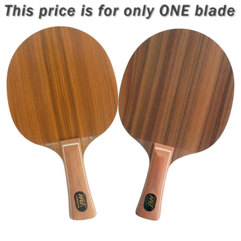 HRT Rosewood NCT VII Table Tennis Ping Pong Blade 7 ply wood hrt ebony nct vii ebony vii ebonyvii table tennis ping pong blade