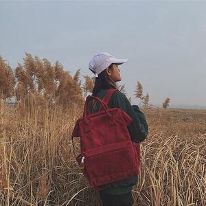 Image 3 - Женские вельветовые рюкзаки, школьные сумки для девочек подростков, повседневные дорожные Рюкзаки большой вместимости, женский рюкзак, 2019