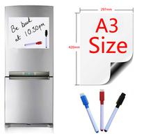 A3 Size 297x420mm Magnetic Whiteboard Fridge Magnets Presentation Boards Home Kitchen Message Boards Writing Sticker 3 Pen