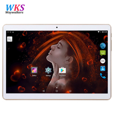 Free Shipping 10.1 inch Android 5.1 Smart tablet pc Octa 8 Core 3G 4G LTE RAM 4GB ROM 64GB 1280*800 IPS Kids Gift MID Tablets