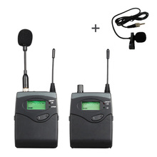 Professional Portable Wireless Audio System for journalists videographers DSLR Camera Microphone Shooting Interview Recording