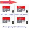 Envío libre caliente nueva sd micro 16/32/64/128/512 gb tf tarjeta de memoria flash usb class10 de microsd 48 MB/S producto original unidad de almacenamiento