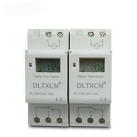 Microcomputer Timer KI206 TP8A16 Microcomputer Electronic Programmable Digital TIMER SWITCH Relay 220V 16A Din Rail Mount