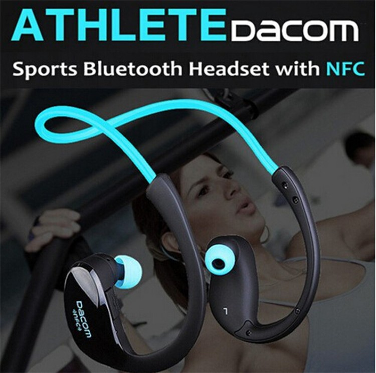 Dacom NFC Cordless Ear Hook Sport Bluetooth 4.1 earpiece Sweatproof Wireless Hifi Bass Headphones With Microphone (1)