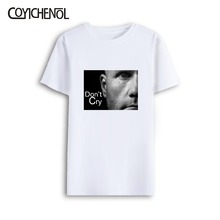 Sri Lanka dont cry Modal Print customize tshirt solid color short sleeve O-neck men tee Oversize 7XL T-shirt COYICHENOL