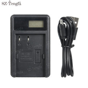 LCD USB cable charger BP-512 for Canon BP-511 BP-511A BP-512 BP-514 Battery
