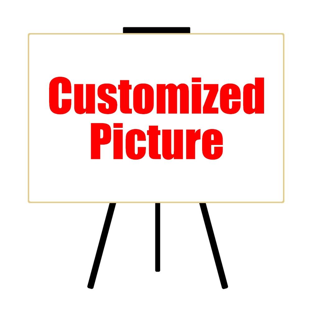HDARTISAN Impresión personalizada en lienzo Su foto Familia Bebé - Decoración del hogar - foto 2
