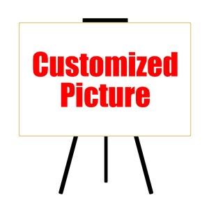 HDARTISAN на заказ Печать на холсте ваша фотография семья ребенок Фото Любимое изображение персонализированные фотографии холст искусство Без...