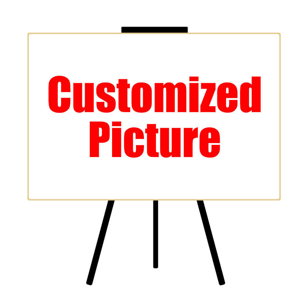 HDARTISAN Custom Print on Canvas Your Picture Family Baby Photo Favorite Picture Personalized Pictures Canvas Art Frameless