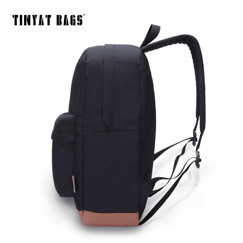 ce3a67b029ff TINYAT Men school backpacks leisure rucksacks for teenage boys Women Travel  shoulder backpack 15 inch laptop backpack mochila -in Backpacks from Luggage  ...
