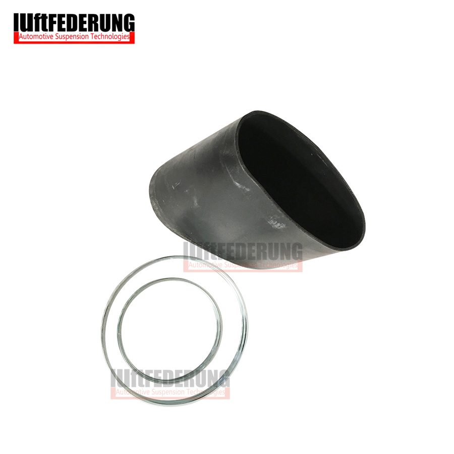 Luftfederung 1 Set Rubber Sleeve With Ring Rubber Bellows For Mercedes W220 Front Suspension Air Spring Bladder 2203202438