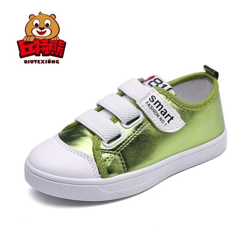 Обувь для детей Обувь для девочек Обувь для мальчиков Высокие ботинки из PU-кожи детей Спортивная обувь для девочек Обувь спорт осень 2018 модн...