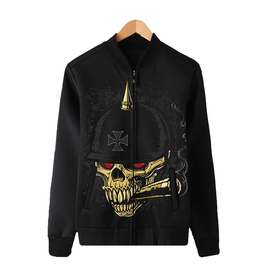 Bomber Jackets Men Streetwear Anorak Jacket Punk Rave Rock Big Mens Jackets Mont Hip Hop Manteau Steampunk Mens Clothing 5jk023