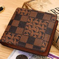 men wallets famous brand new 2016 mens magic wallet male money purses New business classic pattern designer Soft ID Card Case