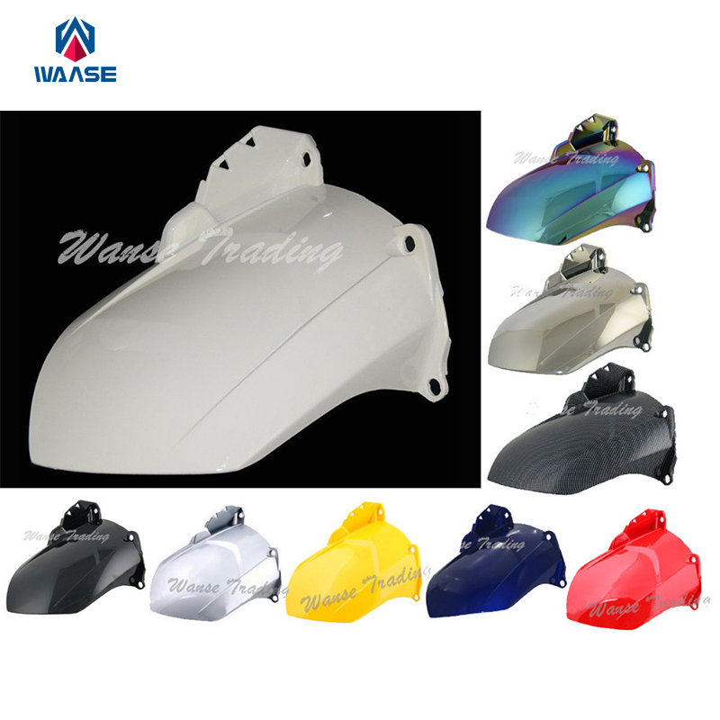 Motorcycle Rear Wheel Hugger Fender Mudguard Mud Splash Guard For Yamaha YZF R1 2007 2008 ABS Plastic red for yamaha yzf r25 r3 13 16 14 15 motorcycle rear fender dust mudguard with chain guard fairing tire wheel hugger protector