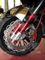 motorcycle front shock absorber and wheel and brake system for yamaha scooter bws CYGNUS-x  for honda msx125