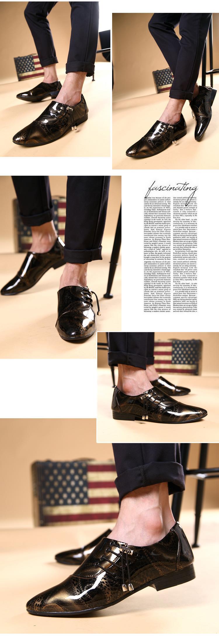 4b7f42c0a7 Primavera otoño hombre joven moda punta estrecha casual Zapatos de ...