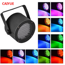 Portable 86 RGB LED Stage Lights Par Party Show DMX-512 Lighting effect Disco Spotlight Projector for Wedding Party Bar Club DJ(China)