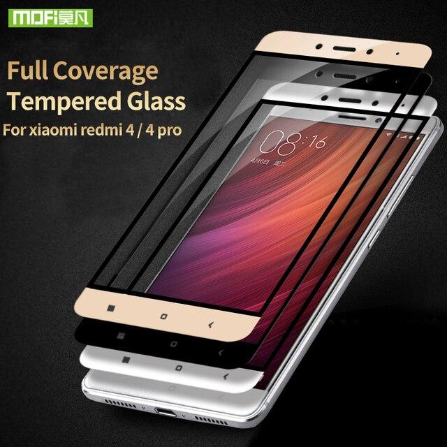 Xiaomi redmi 4 pro glass 2.5d screen protector temperd flim Mofi cases Xiaomi redmi 4 glass 5.0 9H screen protector protect film