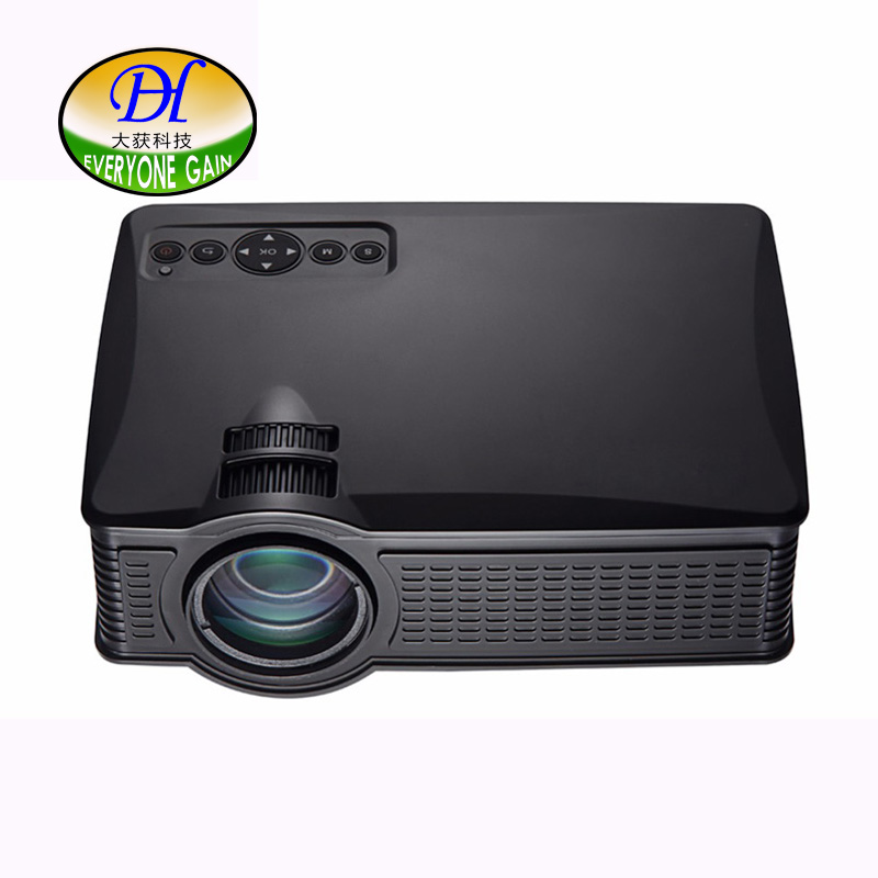 Everyone Gain LCD mobile home theater projector 150 inch large image support HD 1080P Beamer mini51
